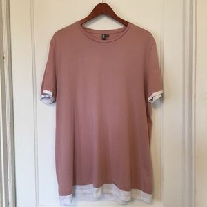 ASOS Pink T-shirt Size XL Stay True 70 Reality